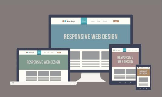 طراحی ریسپانسیو یکی از اصول طراحی وب سایت حرفه ای است