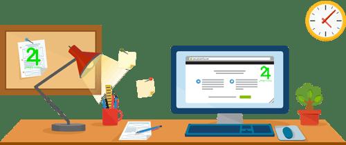 بخش های اصلی در طراحی سایت شرکتی