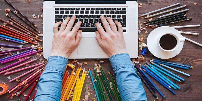 نقش گرافیک و جذابیت در طراحی وب سایت شخصی