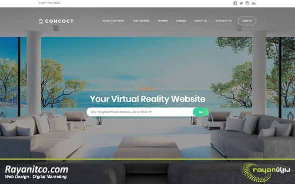 طراحی سایت املاک – طراحی وب سایت املاک