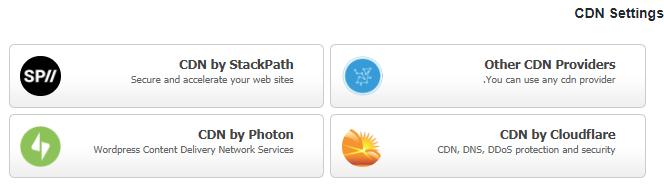 آموزش بخشCDN Settings افزونه WP Fastest Cache
