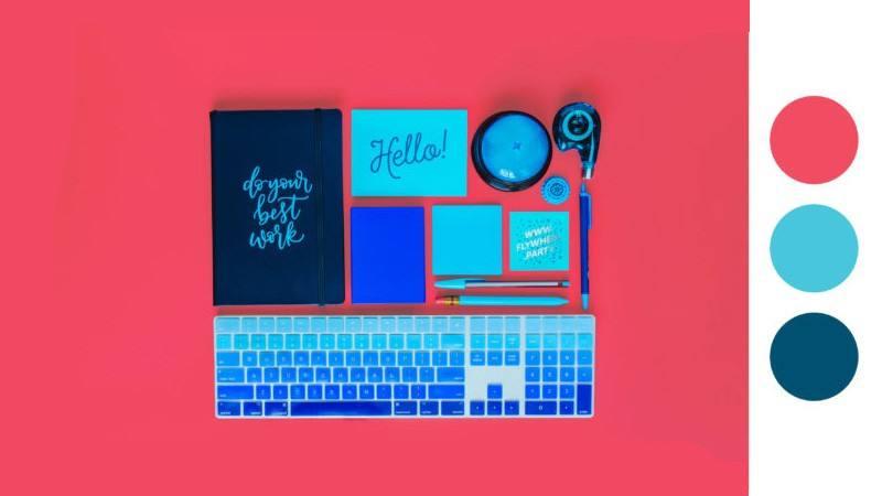 تاثیر رنگ در طراحی وب سایت فروشگاهی