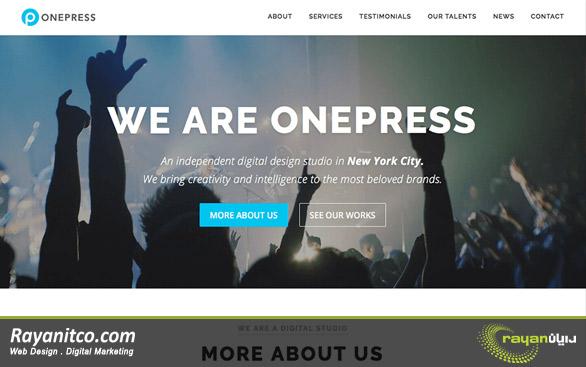 طراحی سایت با وردپرس – طراحی وب سایت با وردپرس