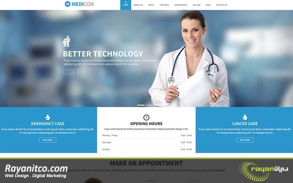 چرا طراحی سایت درمانگاه نیاز است؟