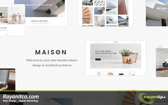 نکات طراحی سایت دکوراسیون
