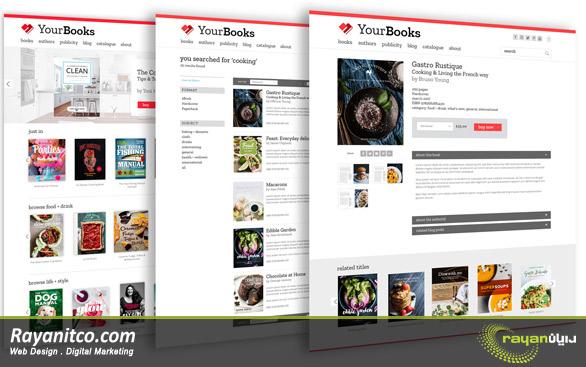 علت نیاز داشتن به طراحی سایت انتشارات