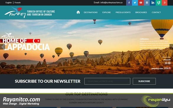 طراحی سایت گردشگری چه مزیتی دارد؟