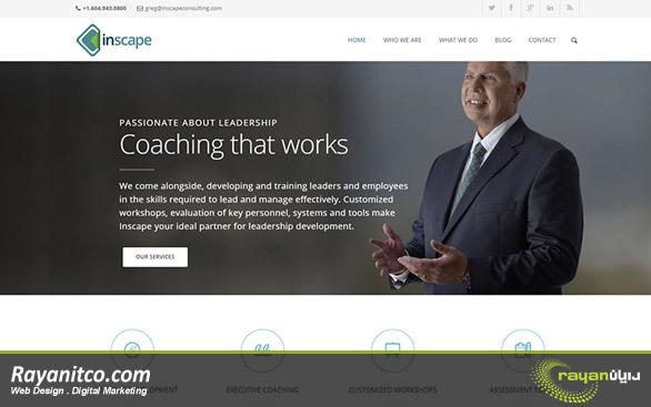 ویژگی های مهم در طراحی سایت شرکتی