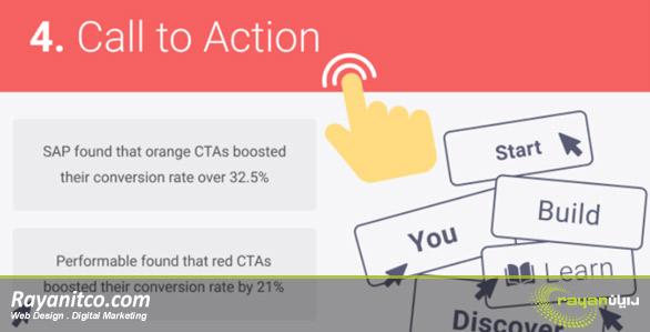 CTA در بهینه سازی سایت