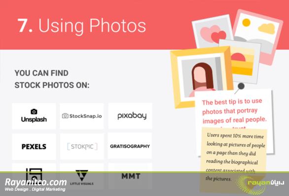 عکس نقش هزاران کلمه در بهینه سازی سایت