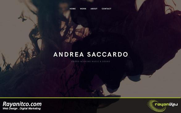 طراحی وب مینیمالیستی
