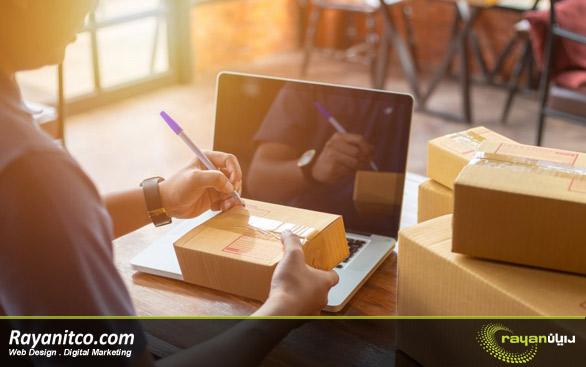 تولید محصول برای فروش آنلاین