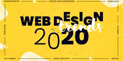 روندهای برتر طراحی وب در سال 2020