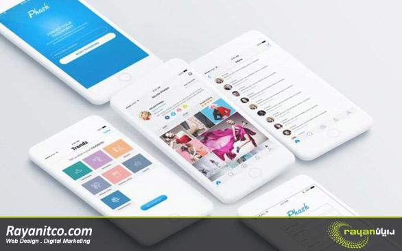 طراحی ریسپانسیو برای موبایل