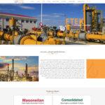 طراحی سایت فراتجهیز کیش انرژی