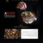 طراحی سایت رستوران لنیما