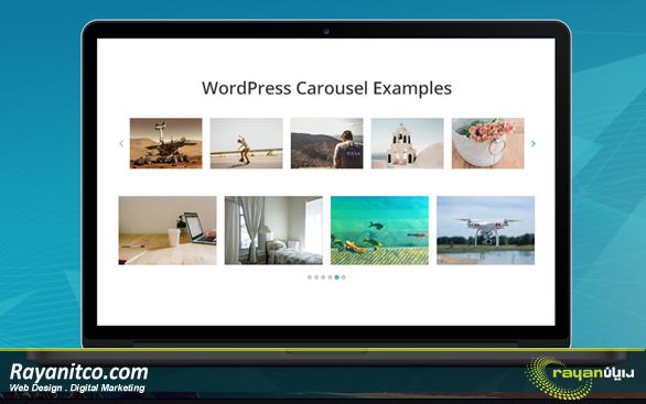 مزایای داشتن اسلایدر تصاویر در وب سایت