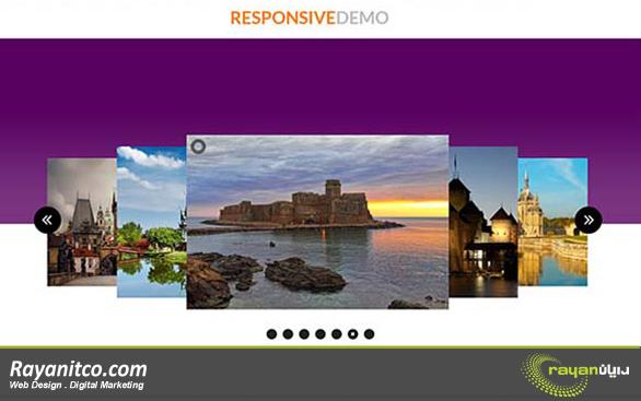 اسلایدر تصاویر در وب سایت از لوگو هم مهمتر هستند