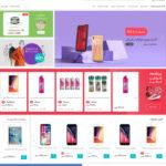 طراحی فروشگاه آنلاین هیل مارکت