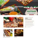 طراحی سایت رستوران زعفران هلند
