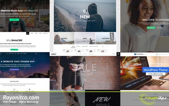 اصول اولیه طراحی صفحات وب