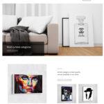 طراحی سایت Art canvas امارات