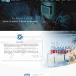 طراحی سایت شرکت فاکارین