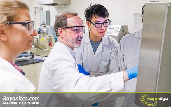 طراحی سایت آزمایشگاهی برای آزمایشگاه ها