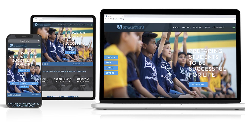 طراحی سایت مدرسه حرفه ای با قیمت مناسب (مشاوره رایگان) – ساخت سایت مدارس - شرکت رایان