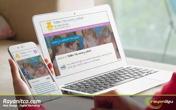 امکانات طراحی سایت مهد کودک