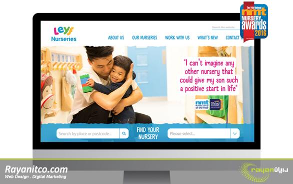 طراحی سایت مهدکودک حرفه ای با شرکت رایان