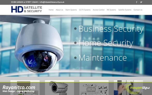 در طراحی سایت دوربین مداربسته چه نکاتی باید در نظر گرفته شود؟