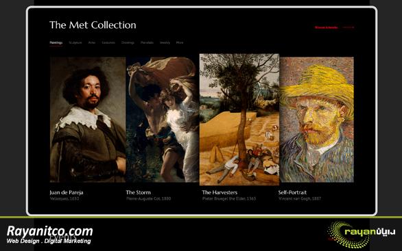 طراحی سایت موزه چیست؟