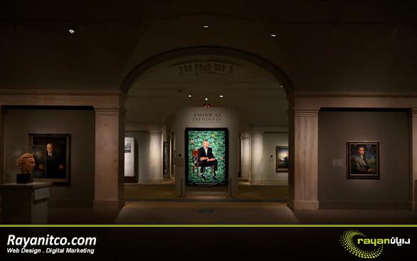 ویژگی های طراحی سایت موزه