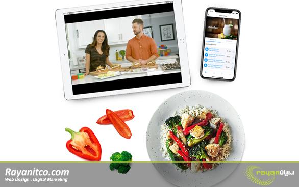 ویژگی های طراحی سایت تغذیه و رژیم درمانی