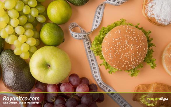 مزیت های طراحی سایت تغذیه و رژیم درمانی