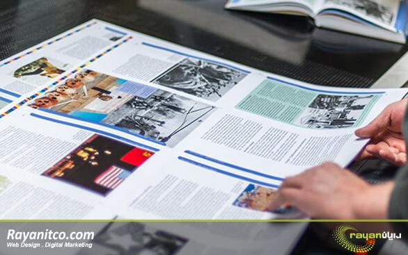 ویژگی های طراحی سایت چاپ آنلاین
