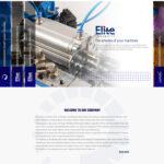 طراحی سایت هلدینگ ژرف صنعت ایرانیان