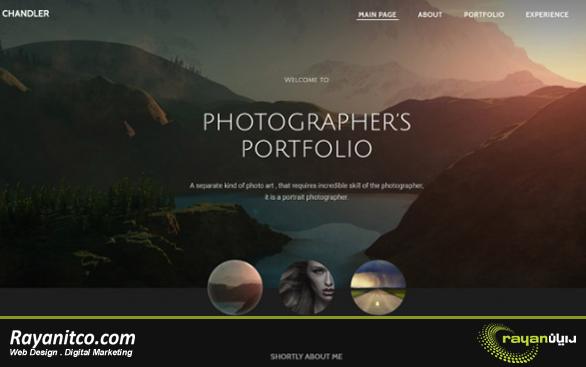 مزیت های طراحی سایت عکاسی