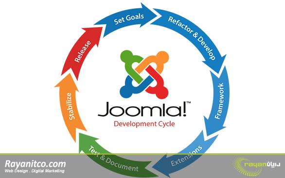 ویژگی های طراحی سایت با جوملا