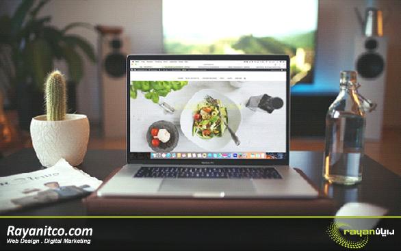 طراحی صفحه اصلی وب سایت ها باید با یک عکس بزرگ که نشان دهنده حیطه فعالیت است شروع شود