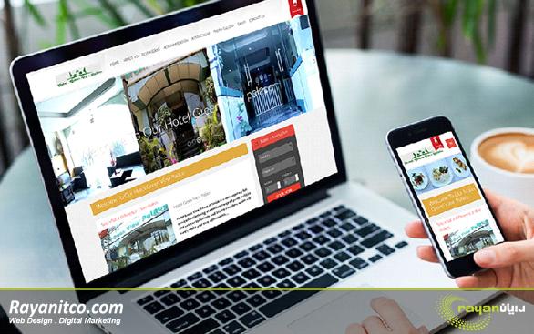 طراحی صفحه اصلی وب سایت ها باید موبایل ریسپانسیو باشد.