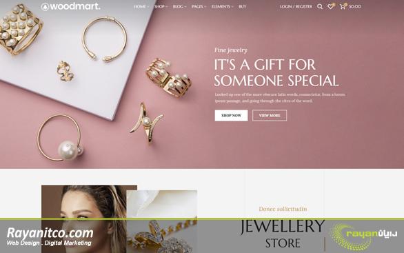 قالب وب سایت فروشگاهی عامل اصلی جذب مشتریان