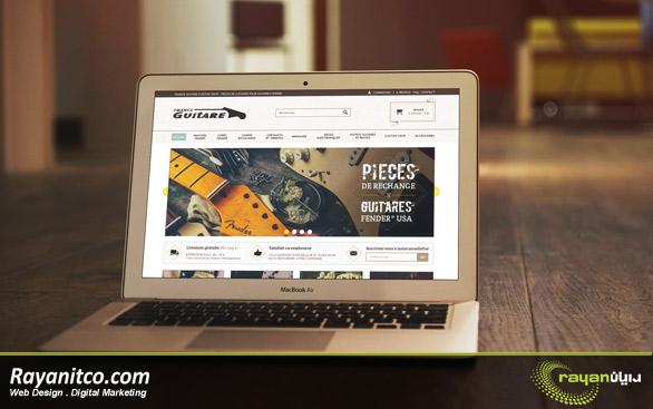 طراحی سایت شرکتی در فرانسه