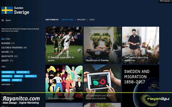 پشتیبانی فنی رایگان طراحی سایت در سوئد