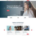 طراحی سایت آکادمی زبان rmz