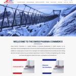 طراحی سایت شرکت سوئیس فارما