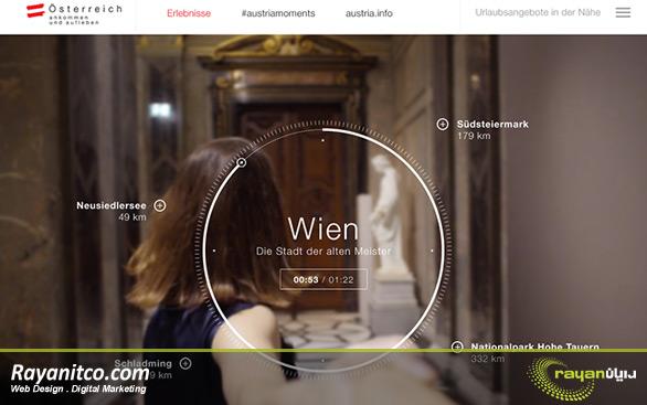خدمات طراحی سایت در کشور اتریش