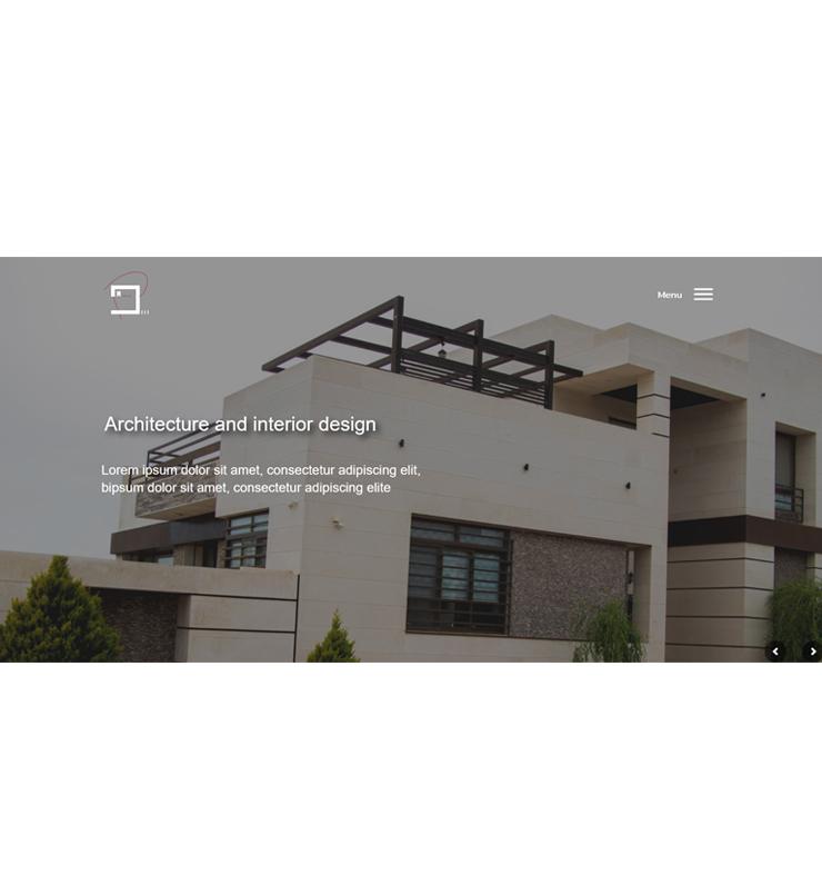 طراحی سایت شرکت معماری پادین مهر