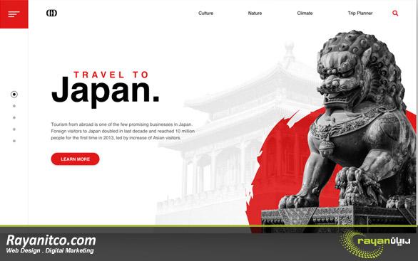 طراحی سایت در کیوتو